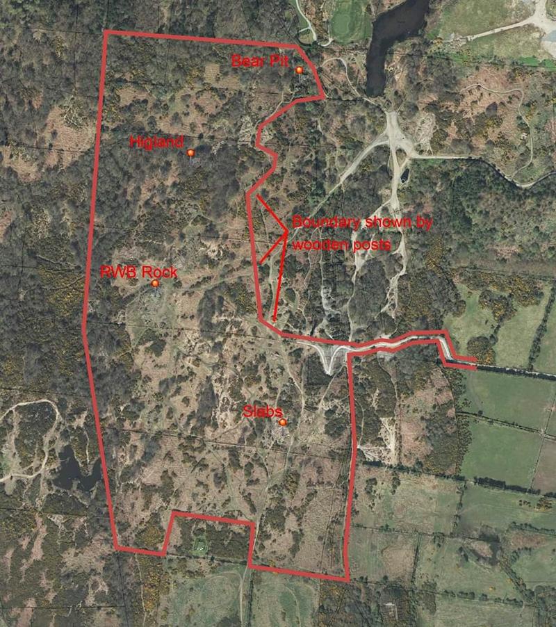 MotoTrialNI Trials Park aerial